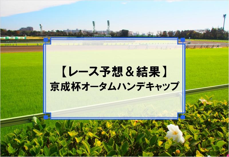 「京成杯オータムハンデキャップ 2019」の予想と結果