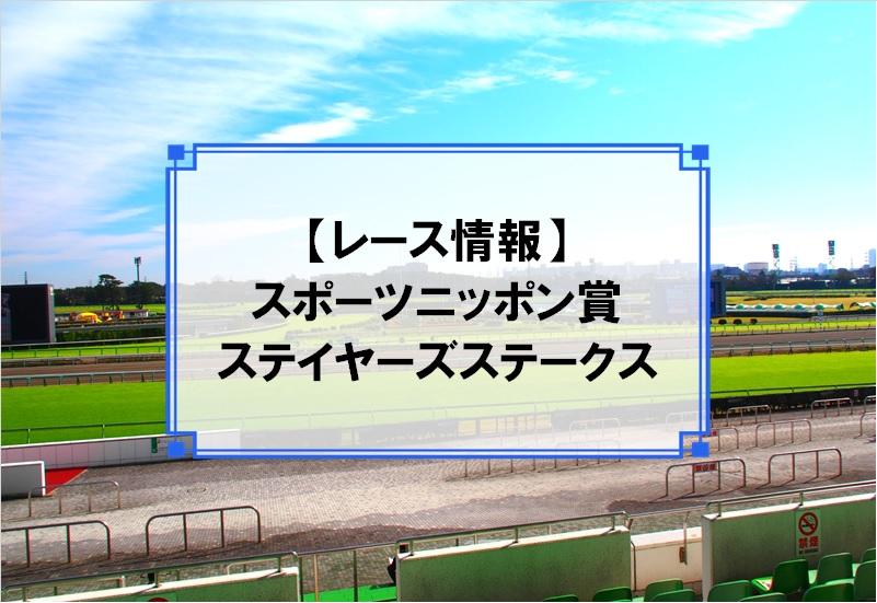 「スポーツニッポン賞ステイヤーズステークス」レース情報
