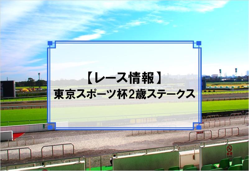 「東京スポーツ杯2歳ステークス」レース情報