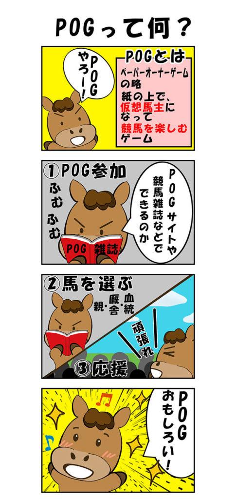 【漫画】POGって何?