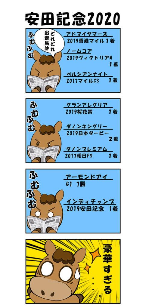 【漫画】安田記念2020
