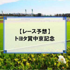 「トヨタ賞中京記念 2020」の予想